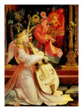 Isenheim Altar: Allegory of the Nativity, detail (Angel with Viola) Giclee Print by Matthias Gruenewald