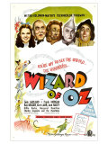 The Wizard of Oz, UK Movie Poster, 1939 Reproduction giclée Premium