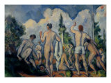 Bathers Giclee Print by Paul Cezanne
