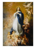 Soult Immaculate Conception Giclee Print by Bartolome Esteban Murillo