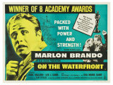 On the Waterfront, UK Movie Poster, 1954 Giclee-vedos