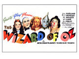The Wizard of Oz, 1939 Giclée-tryk