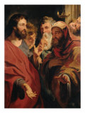 Christ and Nicodemus Giclee Print by Jacob Jordaens