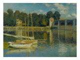 The Bridge at Argenteuil, 1874 Giclee Print by Claude Monet