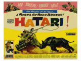 Hatari, 1962 Reproduction procédé giclée