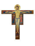 Crucifix Giclee Print by Alberto Sotio