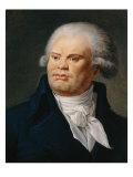 Portrait of Georges Danton Giclee Print
