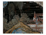 Screen Called 'Coromandel' with Scenes from the Life in the Forbidden Town of Peking: Woman on the  Giclee Print