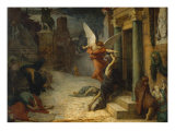 The Plague in Rome Giclee Print by Jules Elie Delaunay