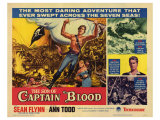 The Son of Captain Blood, 1963 Posters