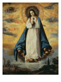 Immaculate Conception Giclee Print by Francisco de Zurbarán