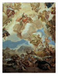 Ceiling, detail Giclee Print by Luca Giordano