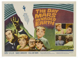 The Day Mars Invaded Earth, UK Movie Poster, 1962 Art
