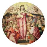 Madonna della Misericordia (Madonna of Mercy) Giclee Print by Giovanni Vasanzio