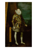 Portrait of Philip III Giclee Print by Juan Pantoja De La Cruz