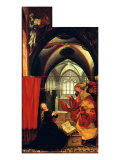 Isenheim Altar: Annunciation Giclee Print by Matthias Gruenewald