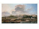 View of the Village of Passy Giclee Print by Nicolas & Jean Baptiste Raguenet
