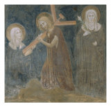 Saint Clare Holding the Cross Giclee Print