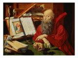 Saint Jerome Giclee Print by Marinus Van Reymerswaele