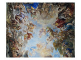 Mythological Scenes with Animals Giclee Print by Luca Giordano