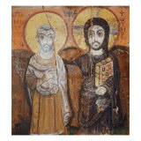 Christ and a Saint Giclee Print