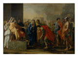 The Moderation of Scipio Giclee Print by Nicolas Poussin