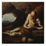 Saint Paul the Hermit Giclee Print by Jusepe de Ribera