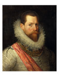 Portrait of Alessandro Farnese Giclee Print by Frans Pourbus I