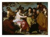 Triumph of Bacchus Gicléedruk van Diego Velázquez