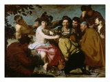 Triumph of Bacchus Giclée-Druck von Diego Velázquez