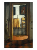 View of an Interior Giclee Print by Samuel van Hoogstraten