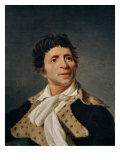 Portrait of Jean-Paul Marat Giclee Print by Joseph Boze