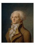 Portrait of Maximilien Robespierre Giclée-tryk