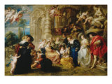 Garden of Love Giclee Print by Peter Paul Rubens