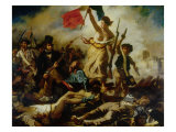 Liberty Leading the People Giclee Print by Eugene Delacroix