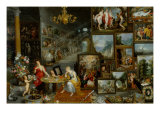 The Five Senses: Sight and Smell Giclee Print by Jan Brueghel the Elder