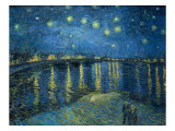 Starry Night, Arles, 1888 Impresso gicle por Vincent van Gogh