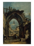View of Venice Giclee Print by Francesco Guardi