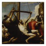 Martyrdom of Saint Philip, 1639 Giclee Print by Jusepe de Ribera