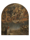 The Ascent of Elijah Gicl&#233;e-Druck von Juan de Valdes Leal