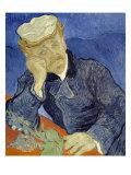 Portrait of Doctor Gachet Giclée-tryk af Vincent van Gogh