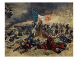 The Siege of Paris 1870-71 Giclee Print by Meissonier