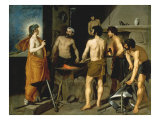 Vulcan's Forge Giclee Print by Diego Velázquez
