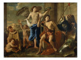 Triumph of David Giclee Print by Nicolas Poussin