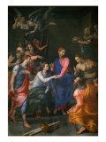Christ, Raising of Jairus' Daughter Giclee Print by Agnolo Bronzino
