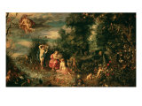 The Four Elements Giclee Print by Jan Bruegel the Elder