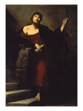 Saint James the Greater Giclee Print by Jusepe de Ribera