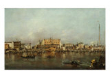 The Doge's Palace and Saint Mark's Basin Giclee Print by Francesco Guardi