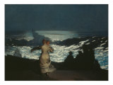 Summer Night Giclee Print by Winslow Homer