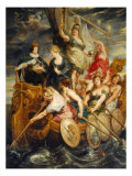 The Majority of Louis XIII Giclee Print by Peter Paul Rubens